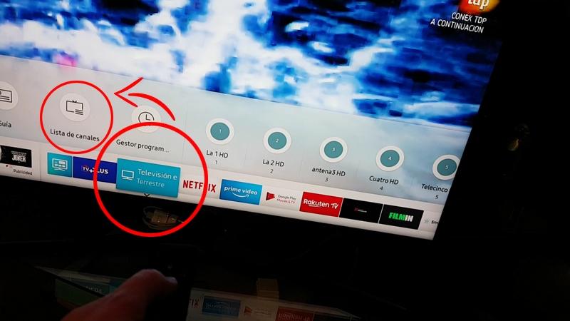 Resintonizar Y Ordenar Canales Televisor Samsung Smart Tv Tizen