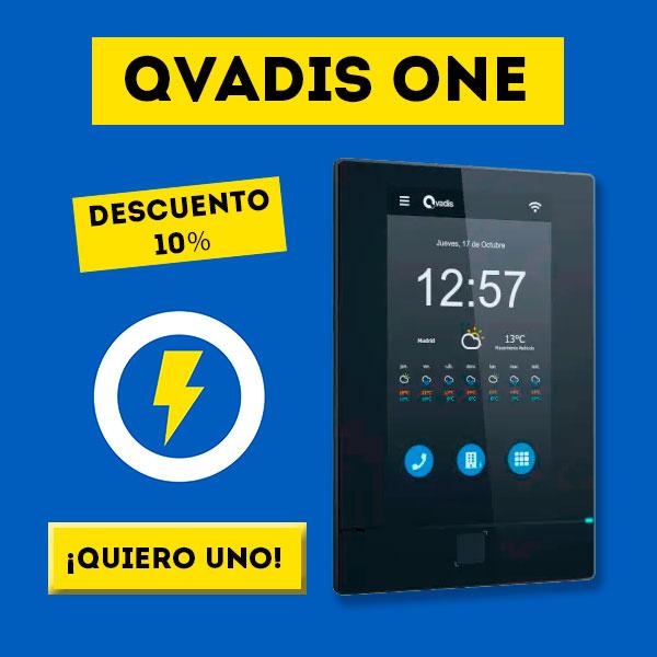 Oferta porterillo automático inteligente Qvadis One